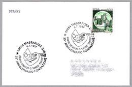 35 Años Fundacion GRUPO DONANTES DE SANGRE - BLOOD DONNORS. Massarosa, Lucca, 1997 - Salud
