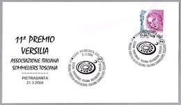 PREMIO VERSILIA - ASOCIACION ITALIANA  DE SOMMELIERS. Pietrasanta, Lucca, 2004 - Vinos Y Alcoholes