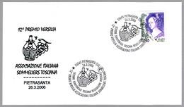PREMIO VERSILIA - ASSOCIAZIONE ITALIANA SOMMERLIERS TOSCANA. Pietrasanta, Lucca, 2006 - Vinos Y Alcoholes