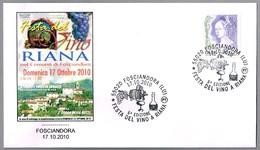 FIESTA DEL VINO RIANA - Fosciandora, Lucca, 2010 - Vinos Y Alcoholes