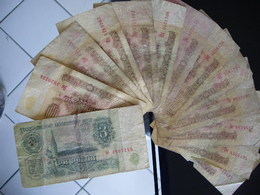 URSS Lot De Billets De 1 Rouble Et 3 Roubles - Russie
