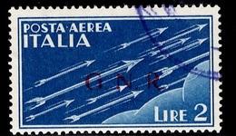 Italie/République Sociale Italienne Poste Aérienne YT N° 6 Oblitéré. B/TB. A Saisir! - 1944-45 République Sociale
