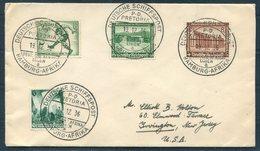 1936 DR Deutsche Schiffspost, Hamburg Afrika P.D. PRETORIA Ship Cover. Deutsche Afrika Linie. OLYMPICS - Germany