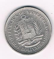DOS BOLIVARES  1988 VENEZUELA /7869/ - Venezuela