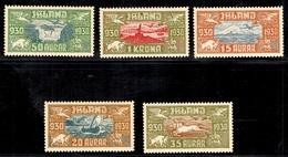 Islande Poste Aérienne YT N° 4/8 Neuf *. B/TB. A Saisir! - Poste Aérienne