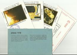 Lancement Fusée ARIANE V13 - 08/05/1985 - Pochette Lancement CNES - 5 Documents - CENTRE SPATIAL GUYANAIS - ESPACE - Europa