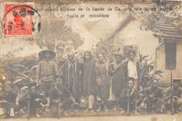 Chine / Belle Oblitération - 64 - Photo Card - Quatre Pirates De La Bande CA - Tête Coupée - - Chine
