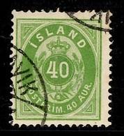 Islande YT N° 11 Oblitéré. B/TB. A Saisir! - 1873-1918 Dépendance Danoise