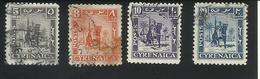 CIRENAIQUE - CYRENAICA - Serie Courante - 1949 - 5, 8, 10 Et 20 Mills - Timbres