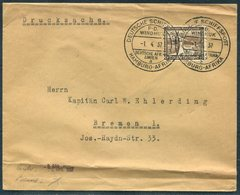1937 DR Deutsche Schiffspost, Hamburg Afrika WINDHOEK Ship Cover. Deutsche Afrika Linie. Kapitan Carl Ehlerding, Bremen - Germany