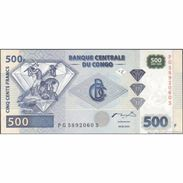 TWN - CONGO DEM. REP. 96C - 500 Francs 4.1.2002 PG-S (HdM) UNC - Congo