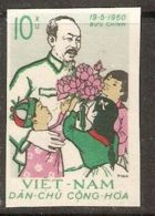 North Vietnam 1960 Mi# 135 (*) Mint No Gum - Ho Chi Minh, 70th Birthday - Vietnam
