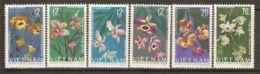 North Vietnam 1966 Mi# 425-430 (*) Mint No Gum - Orchids - Vietnam