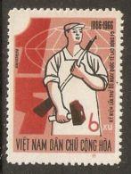 North Vietnam 1966 Mi# 443 (*) Mint No Gum - May Day - Vietnam