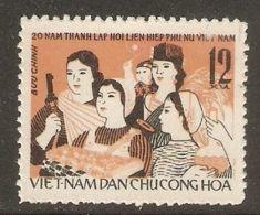 North Vietnam 1966 Mi# 455 (*) Mint No Gum - Vietnamese Women's Union, 20th Anniv. - Vietnam