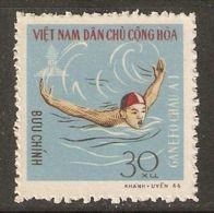 North Vietnam 1966 Mi# 464 (*) Mint No Gum - Short Set - GANEFO Asian Games / Swimming - Vietnam