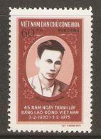 North Vietnam 1975 Mi# 794 (*) Mint No Gum - Short Set - Ho Chi Minh - Vietnam