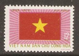 North Vietnam 1975 Mi# 822 (*) Mint No Gum - Short Set - Independence, 30th Anniv. / Flag - Vietnam