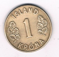 1  KRONE 1971 IJSLAND /7874/ - Islanda