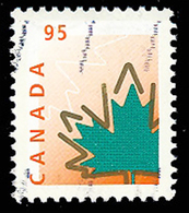 Canada (Scott No.1686 Feuille D'érable / Maple Leaaf) (o) - 1952-.... Règne D'Elizabeth II