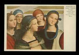 Raffaello Sanzio *Sposalizio Di Maria Vergine* Ed. Roberto Hoesch - Milano Nº 3. Nueva. - Peintures & Tableaux