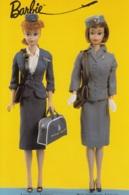 Barbie Stewardess,American Airlines,Pan Am Airways,Mattel 1989, Ungelaufen - Games & Toys