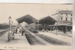 Cpa 51 Reims Intérieur De La Gare - Reims