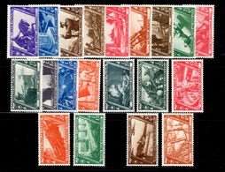 Italie YT N° 305/320, PA N° 39/40 Et Expres N° 21/22 Neufs ** MNH. Superbe Gomme D'origine. TB. A Saisir! - 1900-44 Victor Emmanuel III