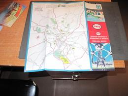 BRUXELLES EXPO 58 - PLAN BRUXELLE ET EXPO ESSO - Roadmaps