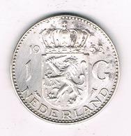 1 GULDEN  1955 NEDERLAND /7879/ - [ 3] 1815-… : Regno Dei Paesi Bassi