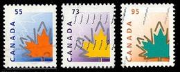 Canada (Scott No.1684-86 Feuille D'érable / Maple Leaf) (o) - 1952-.... Règne D'Elizabeth II