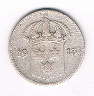 10 ORE  1913  ZWEDEN /7880/ - Svezia