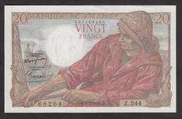 Billet 20 Francs Pêcheur Du 9-2-1950 - Fay: 13/17 - Voir Descriptif Et Scan - 1871-1952 Anciens Francs Circulés Au XXème
