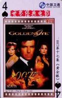TARJETA TELEFONICA DE CHINA. CINE, 007 GOLDENEYE (217) - Cinéma