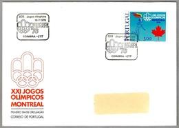 XXI JUEGOS OLIMPICOS MONTREAL 1976. Coimbra, Portugal, 1976 - Verano 1976: Montréal
