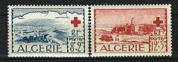 "Algerie YT 300 & 301 "" Croix-Rouge "" 1952 Neuf** - Nuevos"