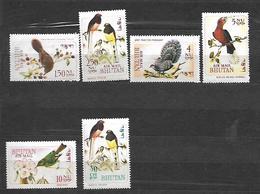 Bhutan 1969 Airmail - Birds   MNH - Bhutan