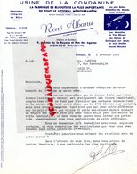 MONACO- RARE LETTRE RENE ALBANU-USINE DE LA CONDAMINE-FABRIQUE BIJOUTERIE- SIGNES DU ZODIAQUE-BIJOU-1965 - Factures & Documents Commerciaux