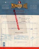 33- BORDEAUX BASTIDE-NANTES-LA PALLICE-TOULOUSE-MONTARGIS-CLERMONT FERRAND- LETTRE MONDIAL OIL-HUILE-GEORGES DAVID- - Petits Métiers