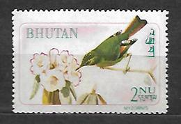 Bhutan 1968  Birds  Myzornis Pyrrhoura  MNH - Bhutan