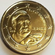 2 Euro UNC  GERMANY (Helmut Schmidt) Km366 SERIE A - Slowakei