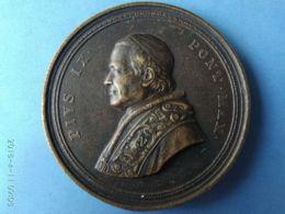 MEDAGLIE PAPALI Pio 9° 1854 - Monarchia/ Nobiltà