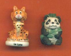 Serie Incomplète De 2/4 Feves Mat Petits Pandas - Animals