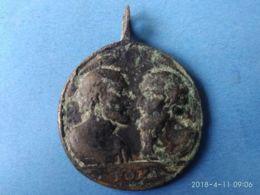 MEDAGLIE PAPALI Antica Medaglia Pietro E Paolo - Monarchia/ Nobiltà