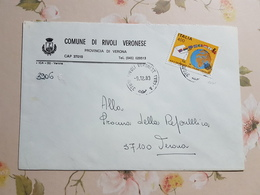 (1967) ITALIA STORIA POSTALE 1983 - 6. 1946-.. Repubblica