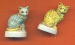Serie Incomplète De 2/10 Feves Chats - Animals