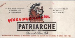 21- BEAUNE- COTE D' OR- BUVARD BOURGOGNE PATRIARCHE- COUVENT DES VISITANDINES - Food