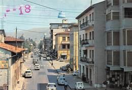 """0303 """" PRATO - VIA ROMA 2 """" ANIMATA CON AUTO .- CART. ORIG. NO SPED. - Prato"""