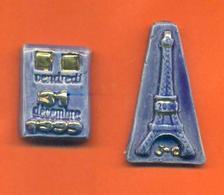 Serie Incomplète De 2/7 Feves An 2000 Moulin à Huile - Olds