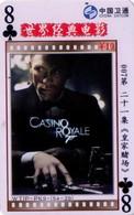 TARJETA TELEFONICA DE CHINA. CINE, 007 CASINO ROYALE (222) - Cinéma